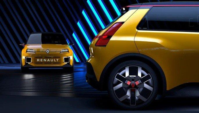 Renault 5 elétrico 100%