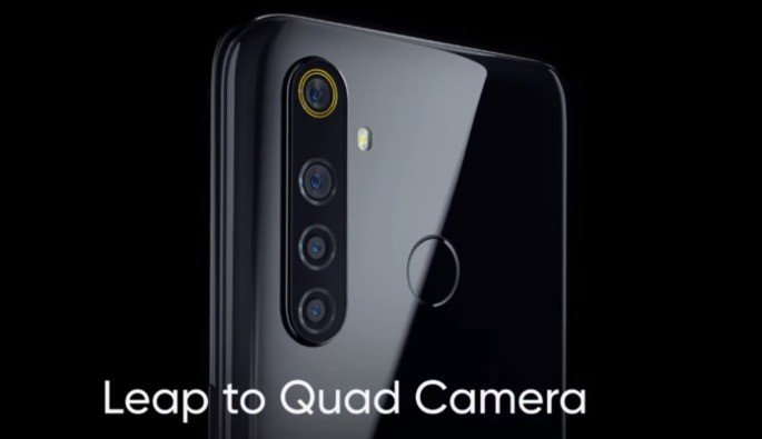 Realme 5 quad-câmara