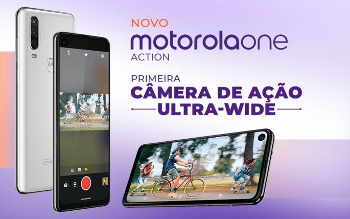 Motorola One Action Brasil