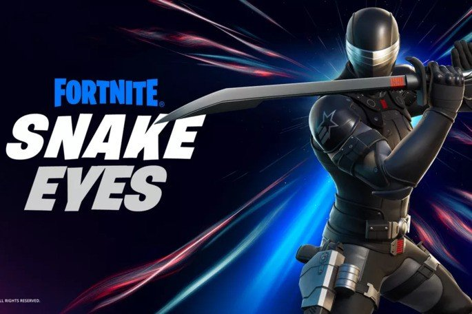 Fortnite Epic Games Snake Eyes
