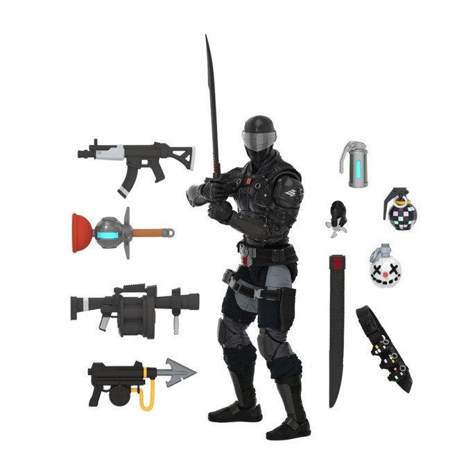 Figura de ação Snake Eyes Fortnite