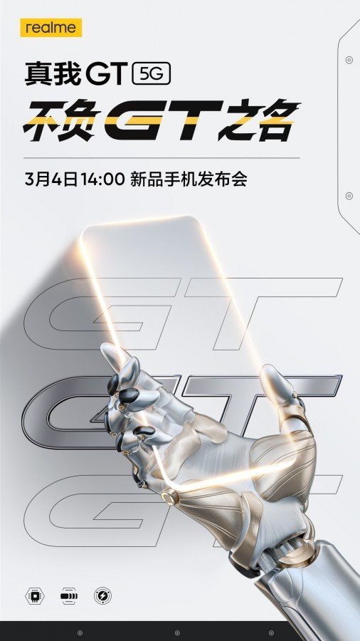 Realme GT topo de gama Snapdragon 888