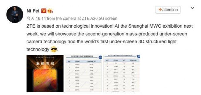 ZTE Axon 30 Pro sensor fotográfico