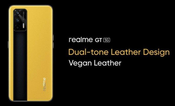 Realme GT 5G design