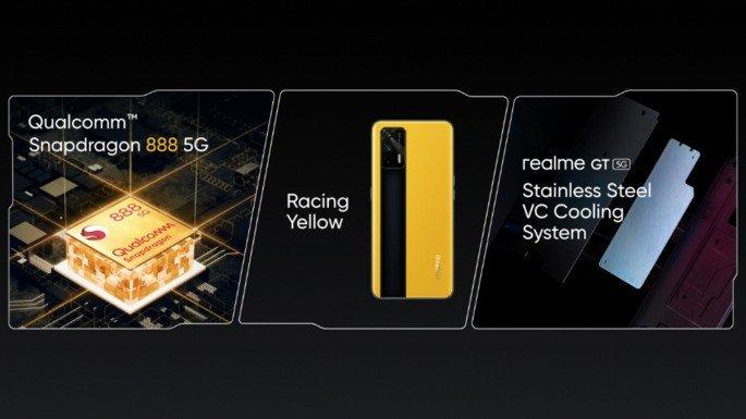 Realme GT Snapdragon 888