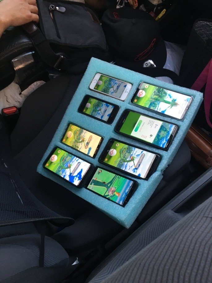 Pokémon Go 8 smartphones