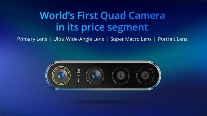 Realme 5 Pro quad-câmara