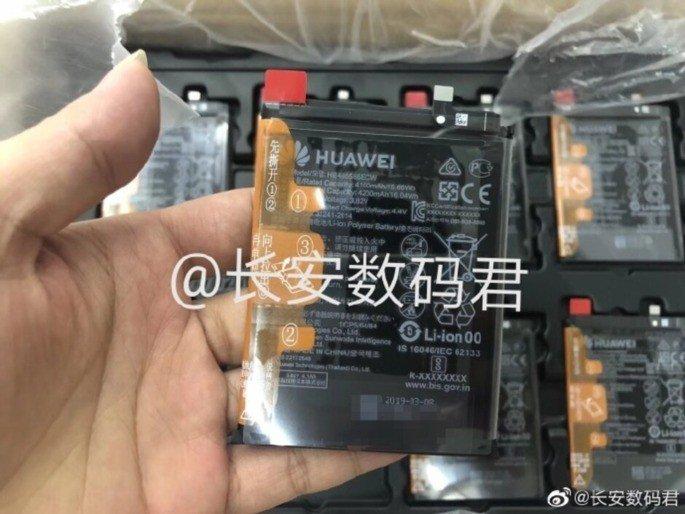 Huawei Mate 30 bateria