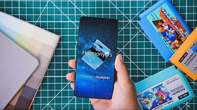 Harmony OS Huawei Smartphone