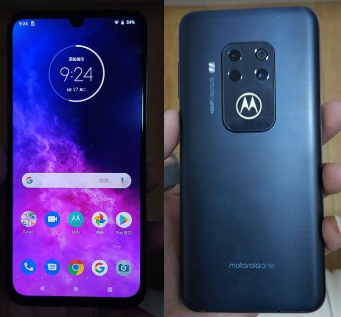 Motorola One Zoom imagens reais