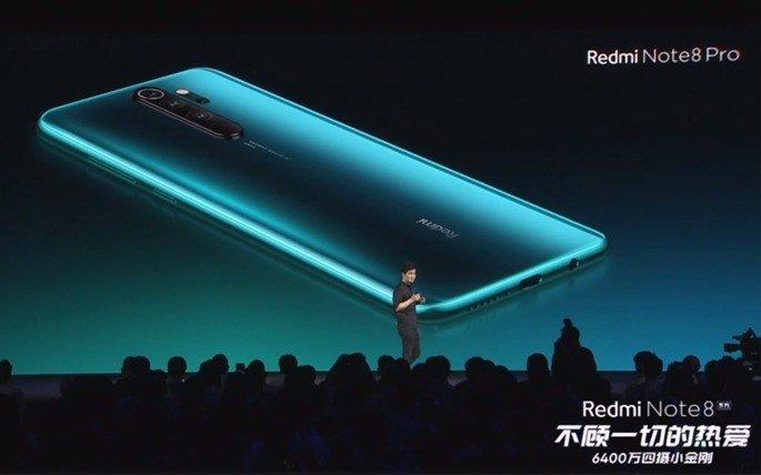 Xiaomi Redmi Note 8 Pro design