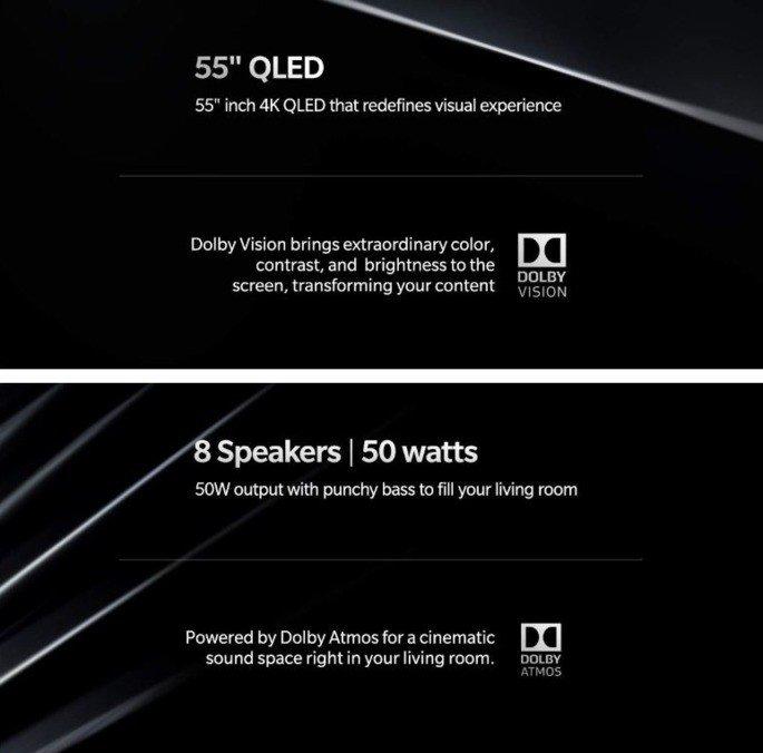 OnePlus TV Smart TV especificações Amazon