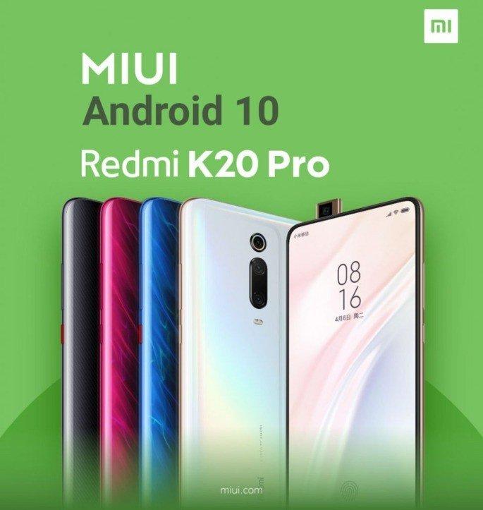 Xiaomi Redmi K20 Pro Android 10