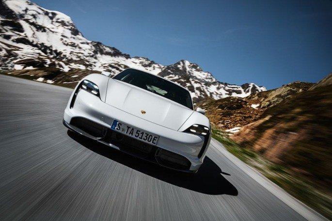 Porsche Taycan roadtest