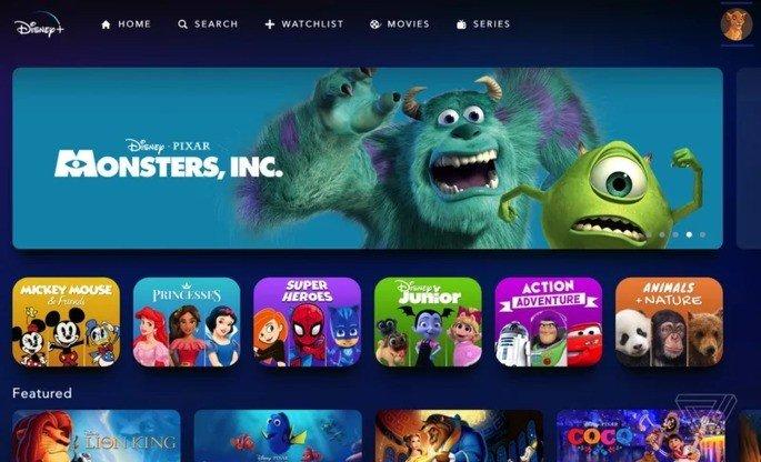 Disney+ perfil para crianças