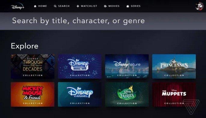 Disney+ serviço de streaming
