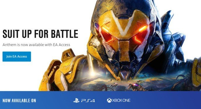 Anthem EA Access