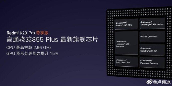 Redmi K20 Pro Snapdragon 855+