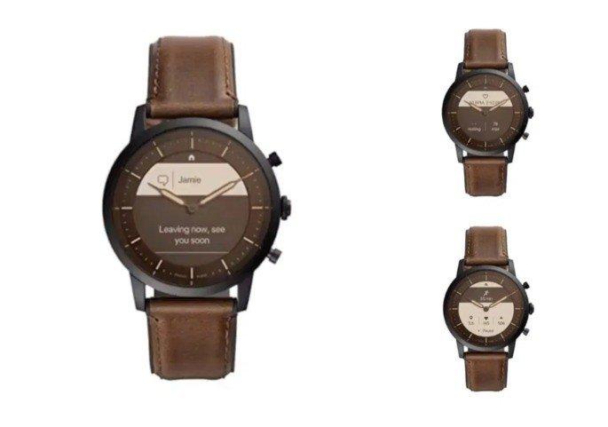 Smartwatch híbrido fossil