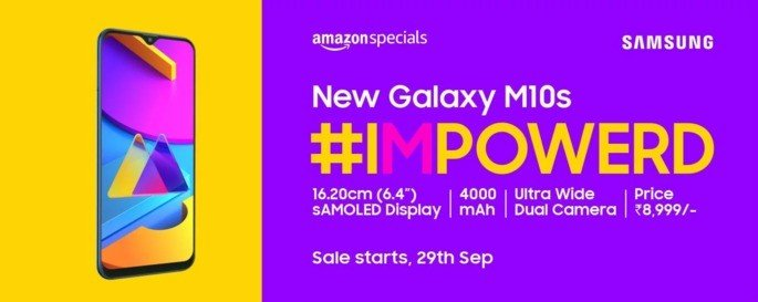 Samsung Galaxy M10s oficial