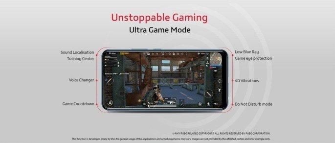 Vivo U10 gaming