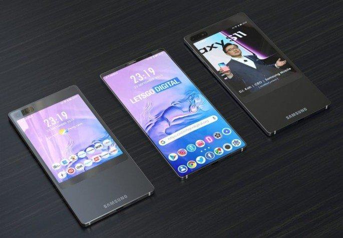 Samsung dois ecrãs