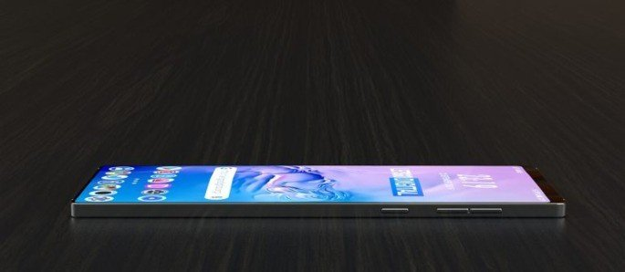 Samsung smartphone com dois ecrãs patente