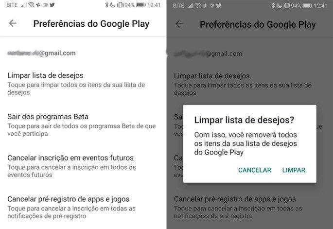 Google Play Store nova funcionalidade