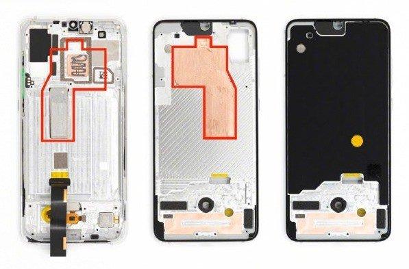 Xiaomi Mi 9 Pro 5G sistema de arrefecimento