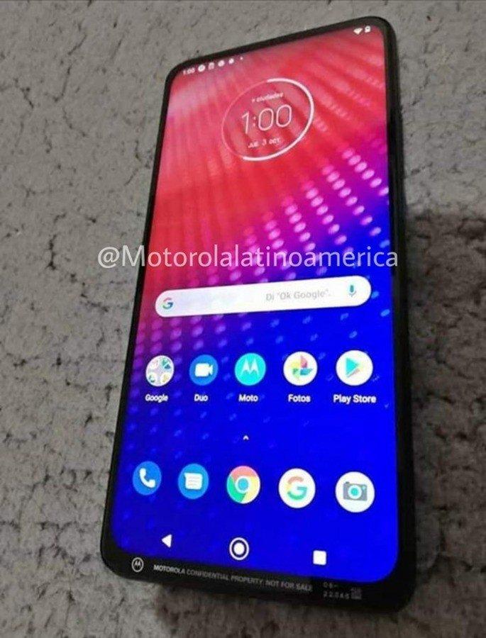 Smartphone mistério Motorola