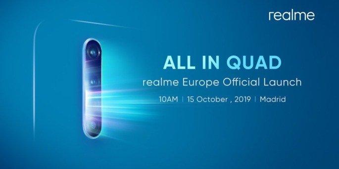 Realme X2 Pro Europa Madrid