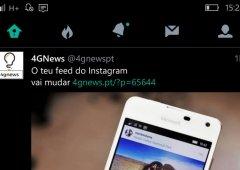 Twitter para Windows 10 Mobile recebe novo design em nova actualização