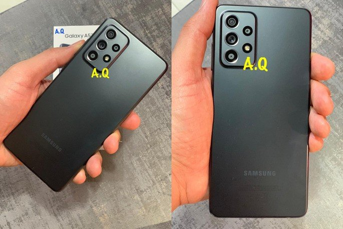 Este é o Samsung Galaxy A52 em fotografias reais. Crédito: Ahmed Qwaider