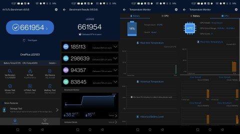 Pontuação do OnePlus 9 Pro (unidade de pré-lançamento) no AnTuTu. Crédito: TechManiacs