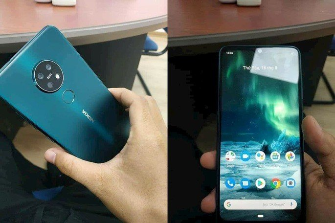 nokia 7.2 hands-on leak
