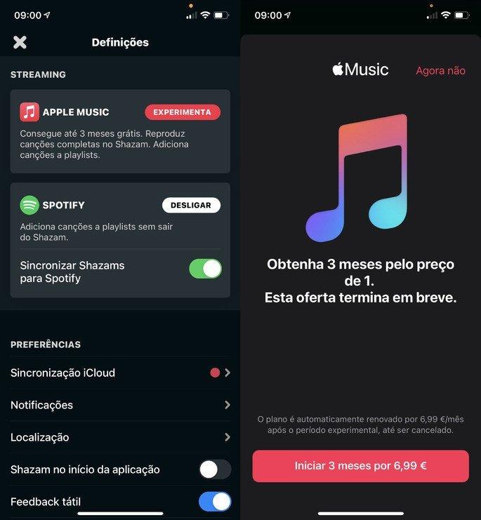 Apple Music grátis 3 meses para novos utilizadores no iPhone/iPad
