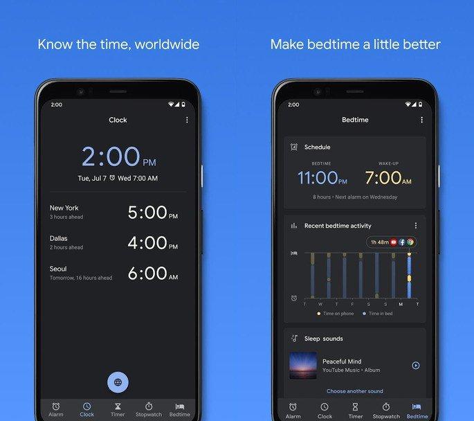 Relógio Google