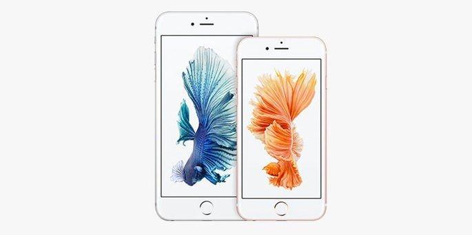 Estes são o iPhone 6s e iPhone 6s Plus