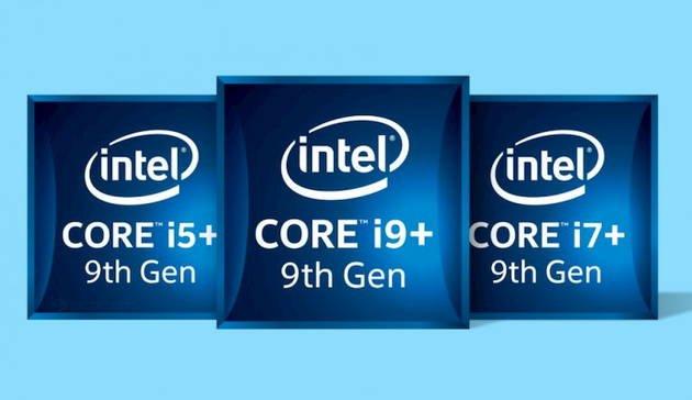Intel nona geração i9 i7 i5