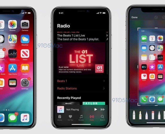 ios 13 dark mode apple music