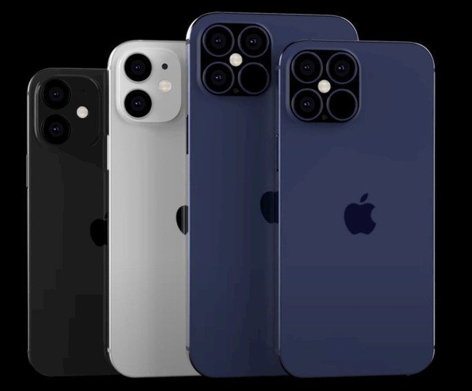 Em 2020 serão lançados quatro novos iPhone: 12 mini, 12, 12 Pro e 12 Pro Max