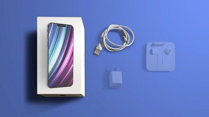 Possível iPhone 12 e acessórios