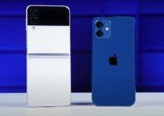 Apple iPhone 12 destroça Samsung Galaxy Z Flip em teste de bateria