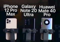 iPhone 12 Pro Max contra Samsung e Huawei: esta é a melhor câmara