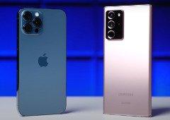 iPhone 12 Pro Max bate Galaxy Note 20 Ultra em teste de bateria (vídeo)