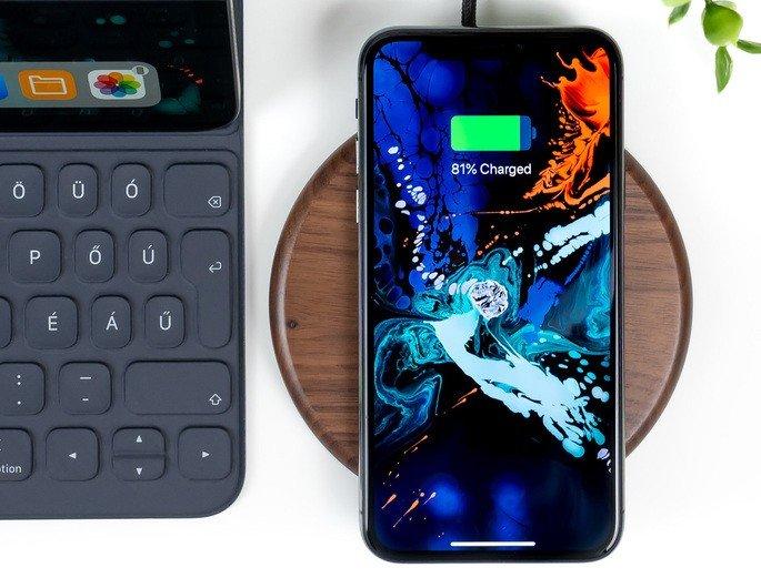 Carregamento sem fios iPhone