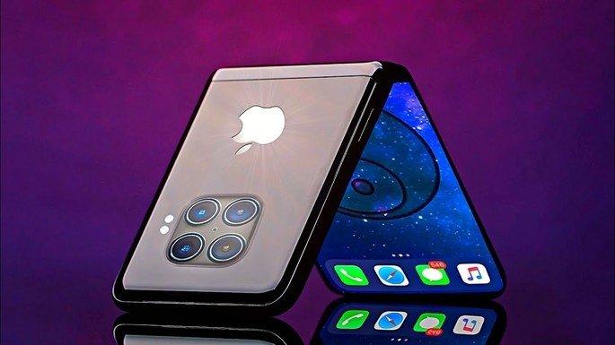iPhone dobrável com design Flip