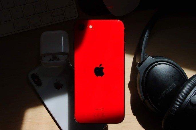 iPhone SE (2ª geração), lançado em 2020