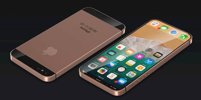 apple iphone se 2 conceito