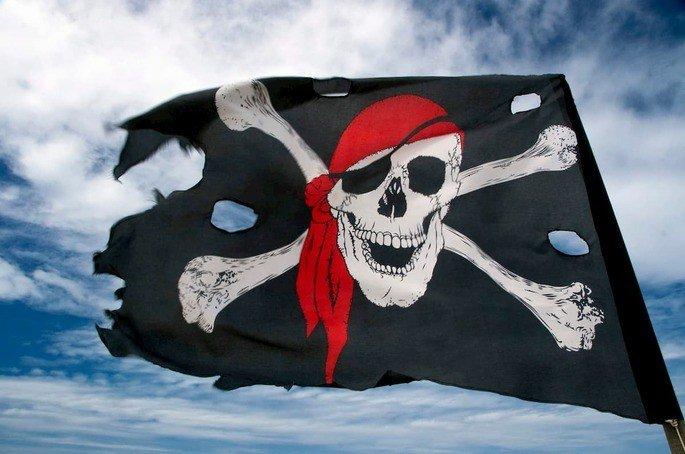 IPTV Pirata, bandeira pirata